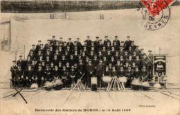 CPA Harmonie Des Atliers De MOHON Le 15 Aout 1909 (863156) - Autres Communes