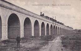 GALLARGUES - Viaduc Du Chemin De Fer - Gallargues-le-Montueux