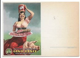 Parma - Industrie Alimentari Gino Tanzi - Illustratore Boccasile. - Advertising
