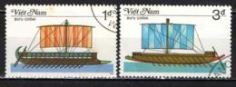 VIETNAM - 1986 - NAVI ANTICHE - VELIERI - USATI - Vietnam