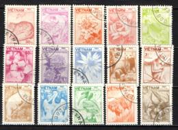 VIETNAM - 1984 - FLORA E FAUNA - USATI - Vietnam