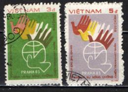 VIETNAM - 1984 - CONFERENZA DI PACE A PRAGA - USATI - Vietnam