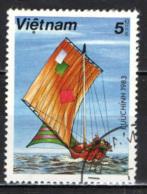 VIETNAM - 1983 - IMBARCAZIONE DEL VIETNAM - USATO - Vietnam