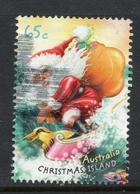 2018 CHRISTMAS ISLAND SANTA Issue VERY FINE POSTALLY USED Sheet 65c STAMP - Christmas Island