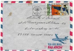 FRANCE   Nouvelle Calédonie  1985  86    86 PA  87  Enveloppe  Y.T. N° 492  502  515  526  250 PA  Oblitéré - Briefe U. Dokumente