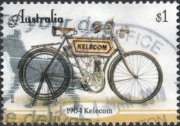 2018 AUSTRALIA KELECOM MOTORCYCLE VERY FINE POSTALLY USED Sheet $1 STAMP - Christmas Island