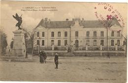 49 - CHOLET - Le Lycée De Jeunes Filles Hopital Temporaire Place Victor Hugo 1915 Tempon De L Hôpital  51 - Cholet