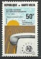 """Hte-Volta YT 510 """" Télécommunications """" 1980 Neuf** - Obervolta (1958-1984)"""