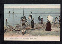 14 Villers Sur Mer / La Plage à L'heure Du Bain - Villers Sur Mer