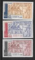 PA - 1964 - N° 19 à 21**MNH - Monument De Nubie - Gabon