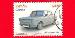 SPAGNA - Usato - 2012 - Auto D'epoca - Simca 1000 (1961) - Vintage Cars - 0.85 - 2011-... Usati