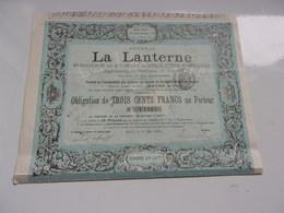 Journal  LA LANTERNE (1888) - Actions & Titres