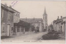 CPA   TRONVILLE 54  Grande Rue Et L'église - Altri Comuni