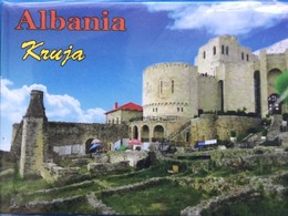 Albanian Kruja Heritage Refrigerator Magnet, From Albania - Other