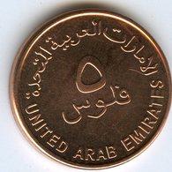 Emirats Arabes Unis United Arab Emirates 5 Fils 1435 - 2014 UNC KM 2.2 - United Arab Emirates