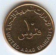 Emirats Arabes Unis United Arab Emirates 10 Fils 1432 - 2011 UNC KM 3.2 - United Arab Emirates
