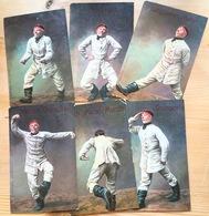 6 AK WWI Deutsch Militärhumor German Humour Rudolf Mälzer Feldpost Field Post 1915 Postmarkj Löckstedter Lager (Holstein - Humor
