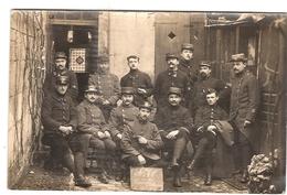 CPA Photo 6 è 7m Régiment Compagnie D'Allemagne 1914 1915 Militaria Guerre - Guerre 1914-18