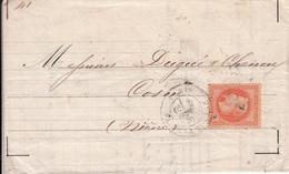 MARQUE POSTALE LAC   DE PARIS PLACE DE LA BOURSE   SEPT 1870 - 1849-1876: Periodo Clásico