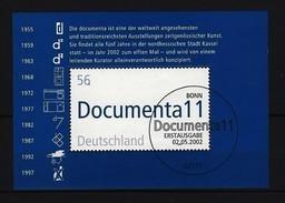 BUND - Block Mi-Nr. 58 - 11. Documenta Gestempelt BONN - BRD