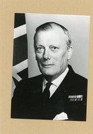 Photo Originale . L'amiral  SIR DADID HALLIFAX  Officier Britanique De L'OTAN - Guerre, Militaire