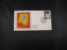 BELG.1986  2199  FDCzijde (Bruxs):Eerste Postzegel Onafhankelijke Staat Congo / Premier Timbre Etat Indépendant Du Congo - FDC