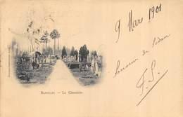 CPA 08 BAZEILLES LE CIMETIERE - Other Municipalities