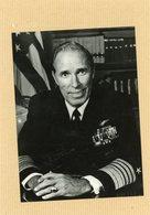 Photo Originale . Le Commandant WESLEY L. McDONALD  Officier Américain De L'OTAN - Guerre, Militaire