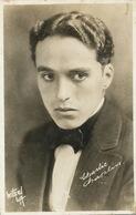 Charlie Chaplin Real Photo Firmed Witzel LA - Acteurs