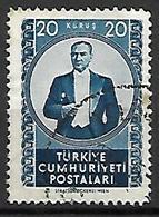 TURQUIE     -     1952 .   Y&T N° 1152 Oblitéré - 1921-... República