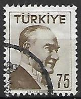 TURQUIE     -     1956 .   Y&T N° 1313 Oblitéré - 1921-... República