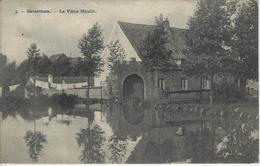Saventhem     Le Vieux Moulin.   1911   Naar   Bruxelles - Zaventem