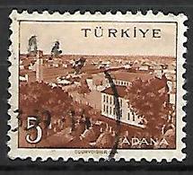 TURQUIE     -     1958 .   Y&T N° 1343 Oblitéré - 1921-... República