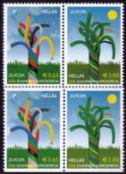 Grèce - Europa CEPT 2006 - Yvert Nr. 2330/2333 - Michel Nr. 2364/2365 A/C  ** - Europa-CEPT