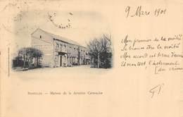 CPA 08 BAZEILLES MAISON DE LA DERNIERE CARTOUCHE   1901 - Other Municipalities