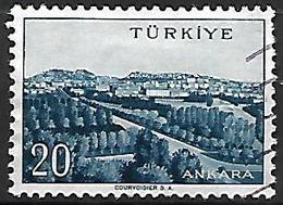 TURQUIE     -     1958 .   Y&T N° 1356 Oblitéré - 1921-... República