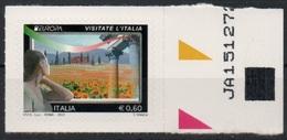 """Italia - Repubblica 2012 """"Europa, Paesaggio Collinare €. 0,60"""", Nuovo - 2011-...: Mint/hinged"""