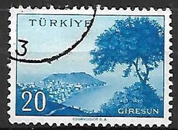 TURQUIE     -     1959 .   Y&T N° 1460 Oblitéré - 1921-... República