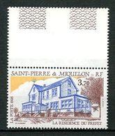 SPM MIQUELON 1993  N° 584 ** Neuf  MNH Superbe C 2 €  La Résidence Du Préfet - Neufs