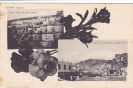 1067/ Nisiro (Egeo) Scala Interna Del Vecchio Castello, Langadi Con Veduta Della Torre - Grèce