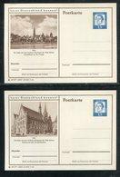 Bundesrepublik Deutschland / 1964 / 2 Bildpostkarten > ULM ** (18855) - BRD
