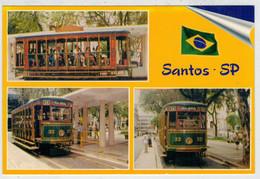 BRASIL         TRAIN-ZUG-TREIN-TRENI-GARE-BAHNHOF-STATION-STAZIONI   2 SCAN           (NUOVA) - Trains