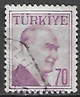 TURQUIE     -     1957 .   Y&T N° 1403 Oblitéré - 1921-... República