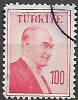 TURQUIE     -     1957 .   Y&T N° 1405 Oblitéré - 1921-... República