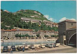 Grenoble: PEUGEOT 403, FORD COMETE, CITROËN 2CV, DS, VW 1200 KÄFER/COX, RENAULT FLORIDE, SIMCA ARONDE - Téléphérique - Turismo