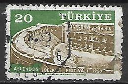 TURQUIE     -     1959 .   Y&T N° 1440 Oblitéré - 1921-... República