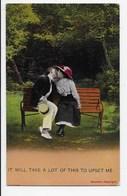 Edwardian Humour - Bamforth - 1927 - Humour