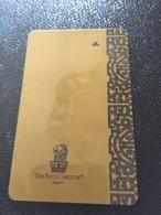 Hotelkarte Room Key Keycard Clef De Hotel Tarjeta Hotel THE  RITZ CARLTON BEIJING - Telefonkarten