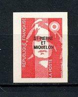 SPM MIQUELON 1993  N° 590 ** Neuf MNH Superbe  C 1.90 € Marianne Du Bicentenaire Auto Adhésif - St.Pedro Y Miquelon