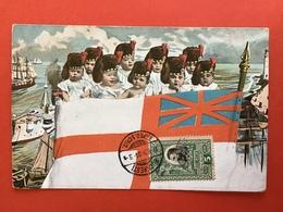 1906 - KINDERMARINE - SOLDATEN - SOLDATS - VLAG ENGELAND - DRAPEAU ANGLETERRE - Satiriques